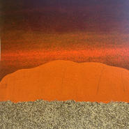 "Ruth Thompson Memorial Award - Linda Dubin Garfield  ""Landscape Remembered I"""