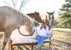 seniors with horses