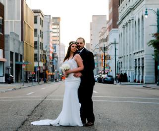 downtown memphis wedding