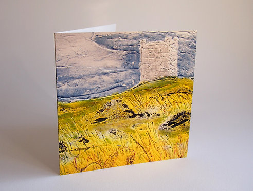 Isle of Whithorn Tower II - Greetings Card