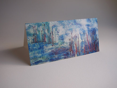 Pond - Greetings Card