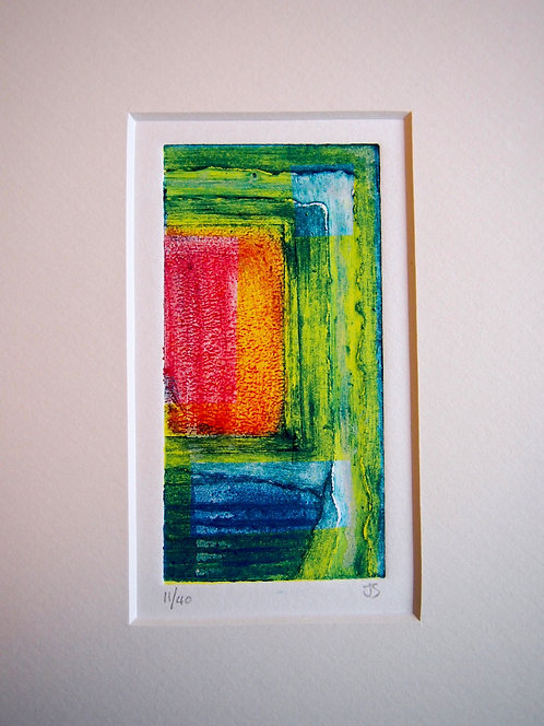 Abstract - Mini Collagraph