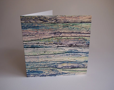 The Sea - Greetings Card