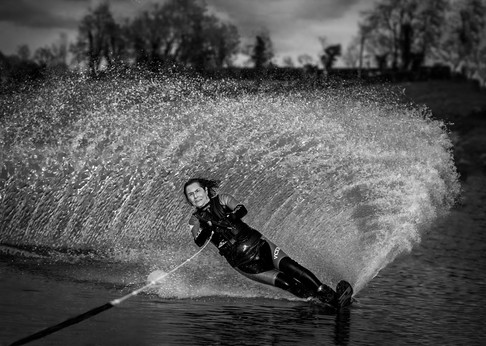 'Water Skier' by Stephen McComb, Central Photographic Association