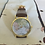 Thumbnail: Mens Atlas Watch with brown faux leather strap