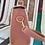 Thumbnail: Pastel Pink & Cream Bow Ladies handbag