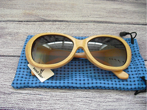 Genuine Bamboo Glasses with polarised lenses