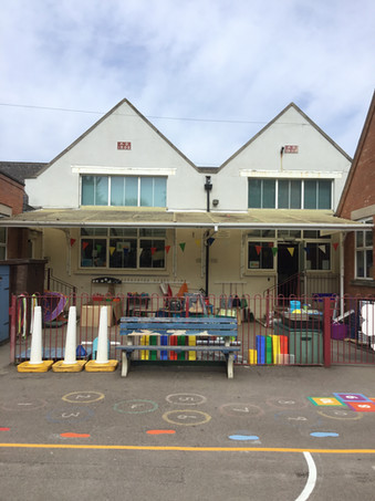 Playground & Reception Area