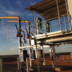 Ellett Contracting_Sample Station Grain Receival Site