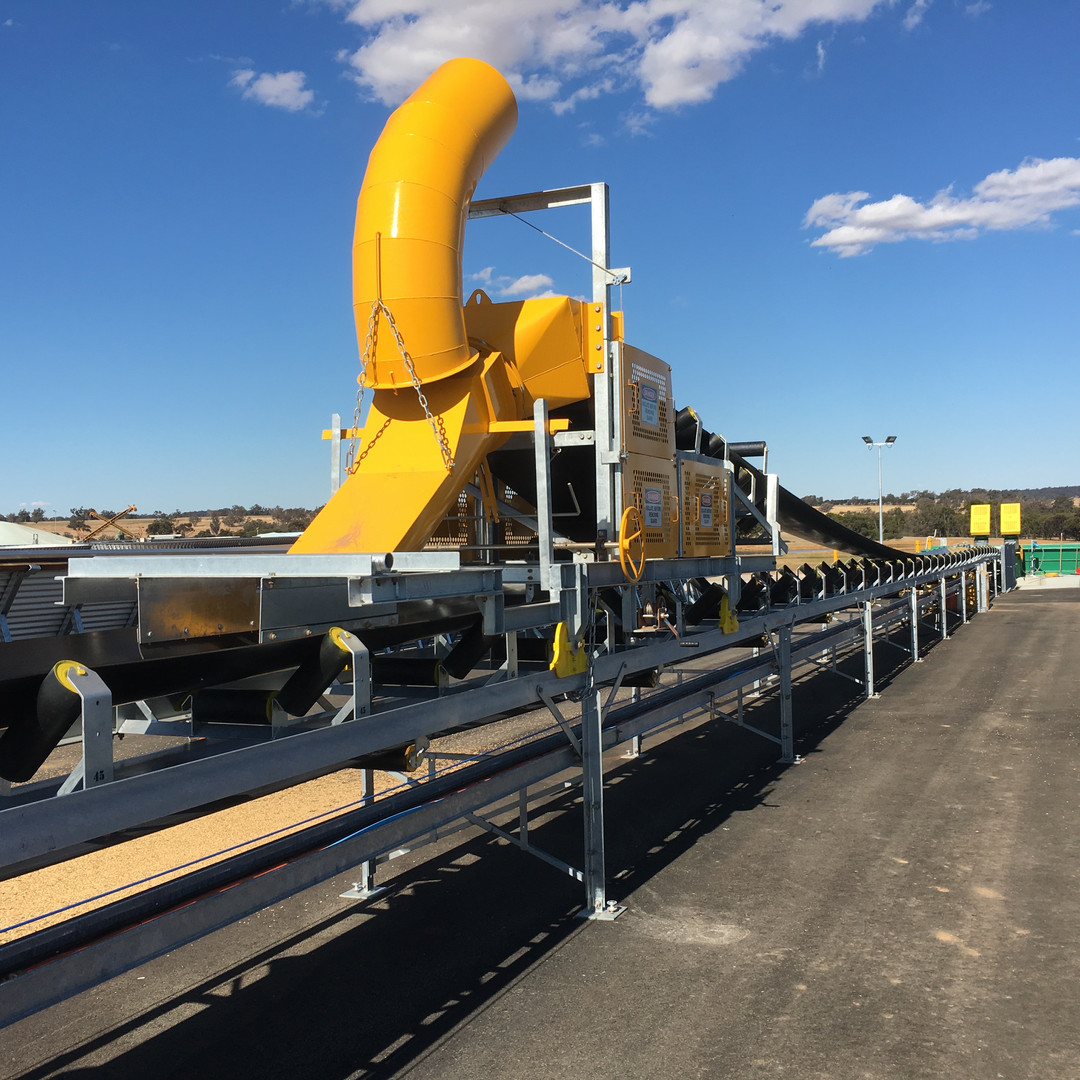 Ellett Contracting_Conveyor Loading System