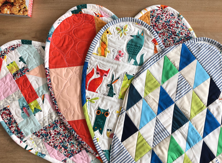 Mini Heart Quilts - for the NICU