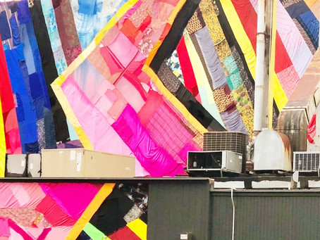 A Quilt Grows in Brooklyn!