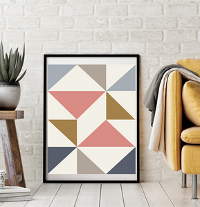 Stitch Bklyn modern minimal art printable