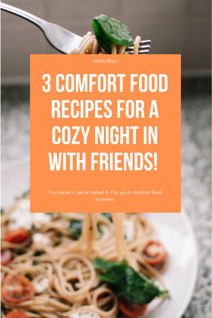 Stitch Bklyn Comfort Food Pasta