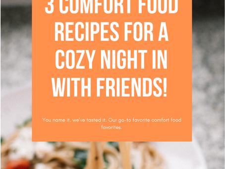 Go-To Comfort Food: Pasta