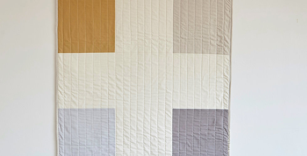 Brownstone Throw Quilt