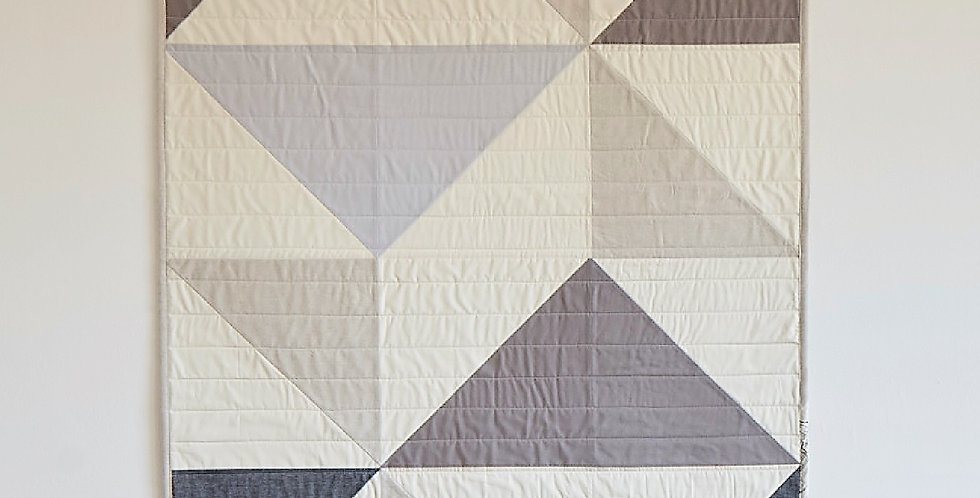 Bridge Throw Quilt