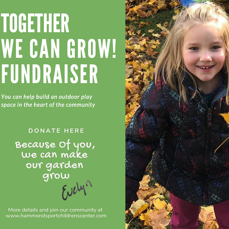 Together We Can Grow Fundraiser