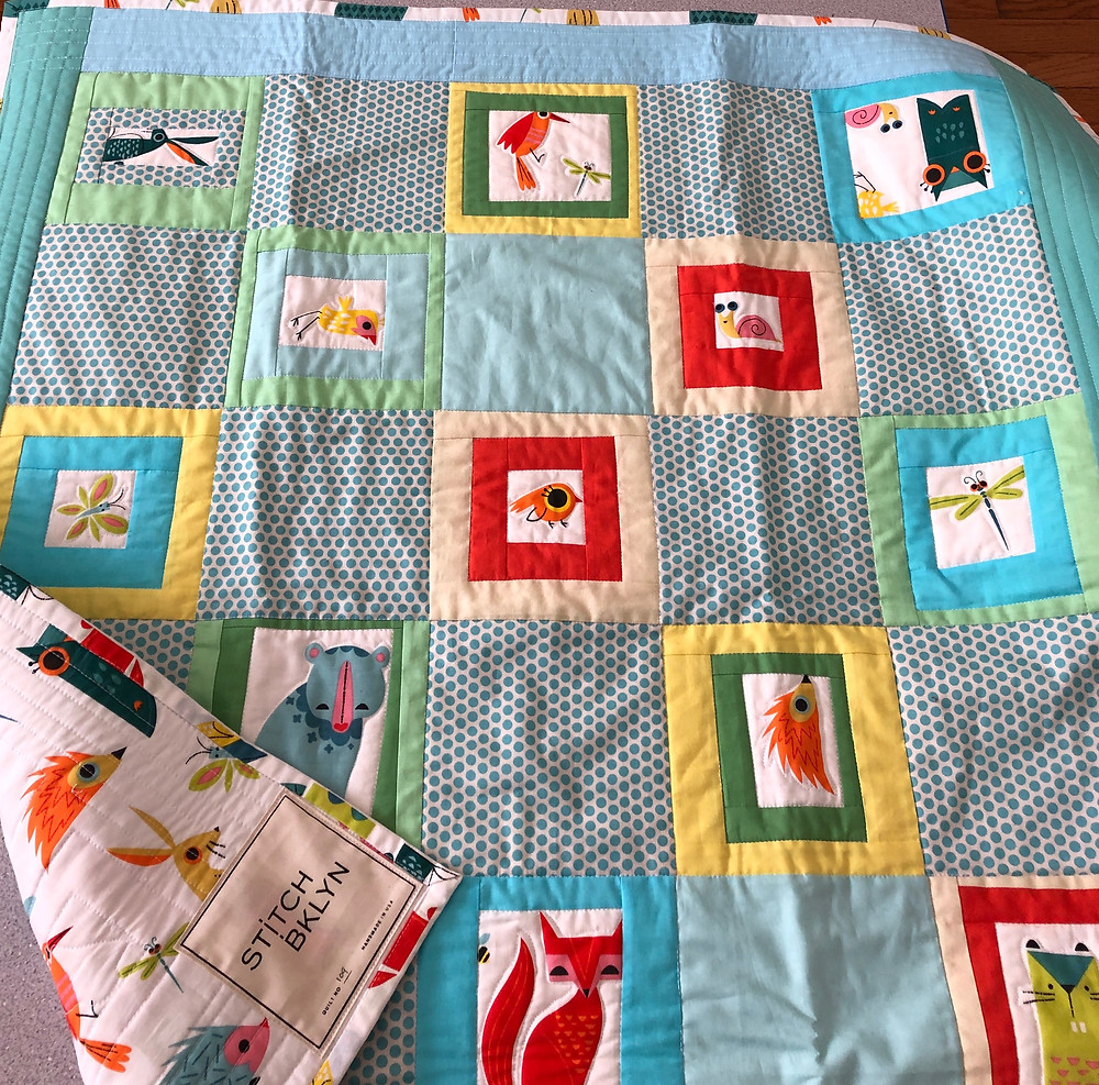Baby Quilt from Stitch Bklyn - New York