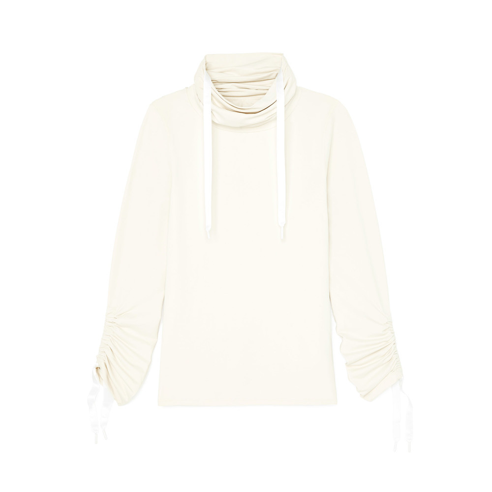 Goop: Funnel Neck Performance Top