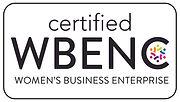WBE certified, women owned enterprise