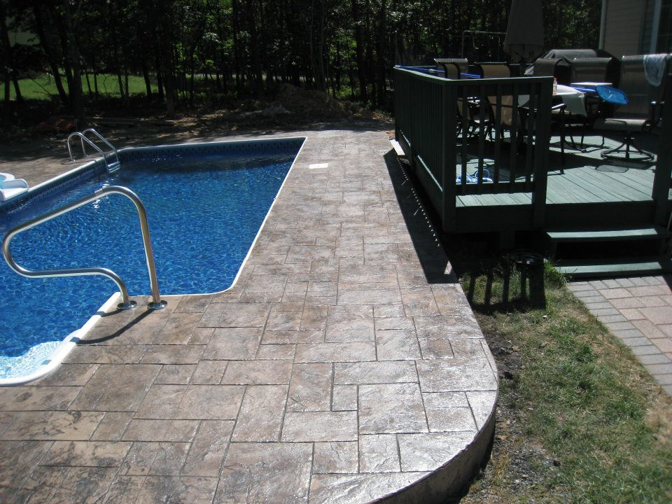 Ashlar Slate Pool