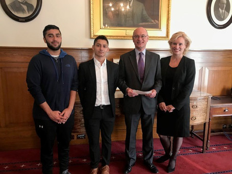 Aston Business School students receive prestigious Birmingham Stock Exchange Scholarships