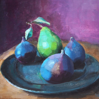 Figs and pear