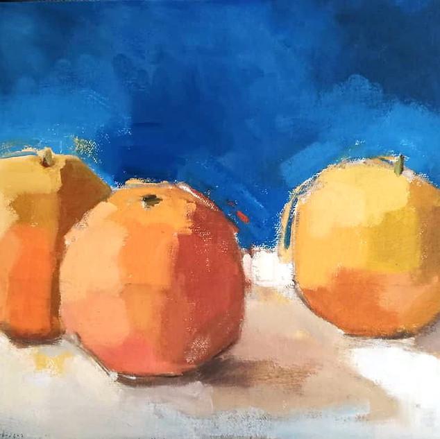 Oranges trio