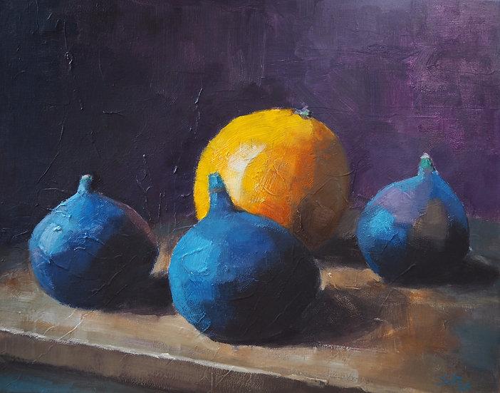 Figs and orange