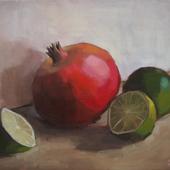 Pomegranate and Limes