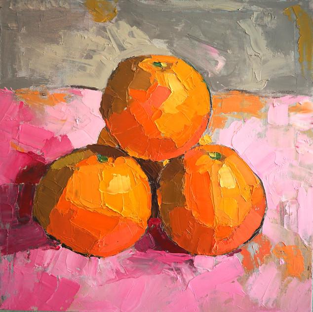 Orange Pyramid