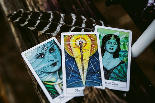 Snapshot Tarot Card Reading