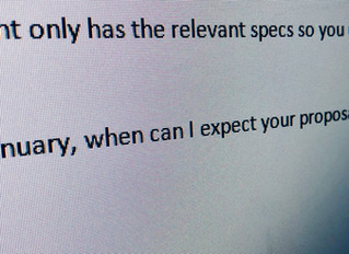 Written Rudeness - The Overstated Question???