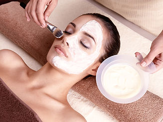facial in a cosmetic clinic