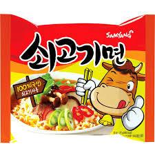 Beef Flavor Ramyun 120g