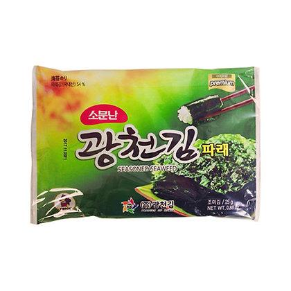 Kwang Cheon Seasoned Seaweed 25g