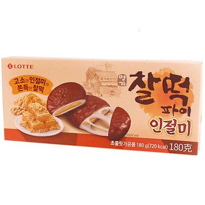 Lotte Rice Cake Injeolmi 180g