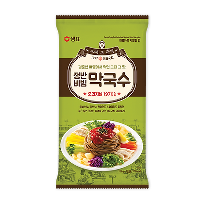 Sempio Spicy cold buck wheat noodles 126g