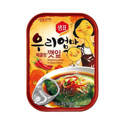 Sempio Sesame Leaves in Spice Sauce 70g