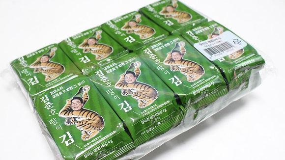 "Sung Gyung ""Kim Jun Ho"" Seasoned Seaweed 4gx16=64g"