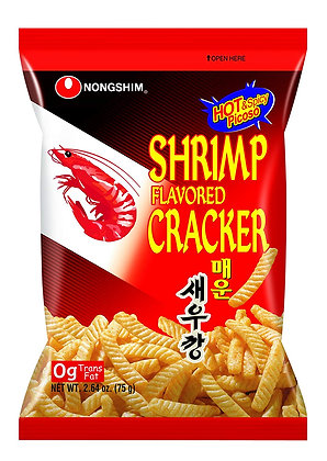 Nongshim Hot Shrimp Cracker 75g