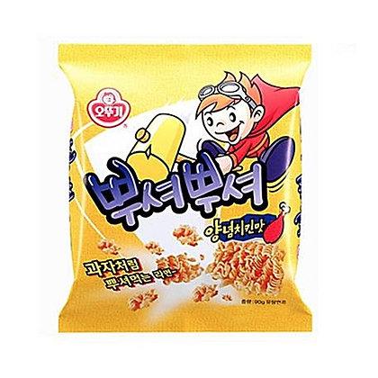 Ottogi Ppushu Ppushu Noodle Snack Grilled Chicken Flavor 90g