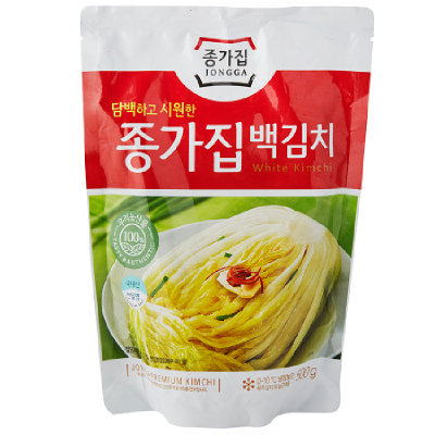 Jongga White Kimchi 500g