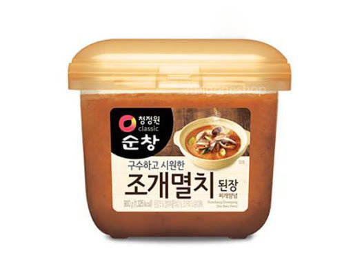 Sunchang Korean Soy Bean Paste with Anchovy and Clam 450g