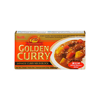 S&B Golden Curry Mild Flavor 220g