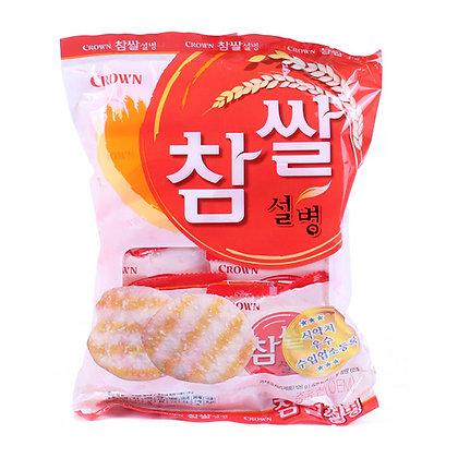 Crown Sweet Rice Biscuit 128g