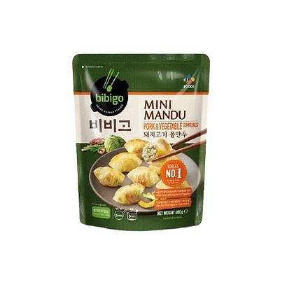 Bibigo Mini Mandu Pork & Vegetables 400g