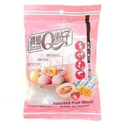 TD Japanese Mochi Assorted Fruit 120g