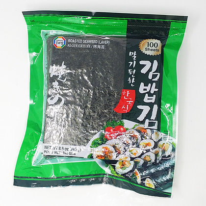Roasted Seaweed (Laver) 100 sheets 240g